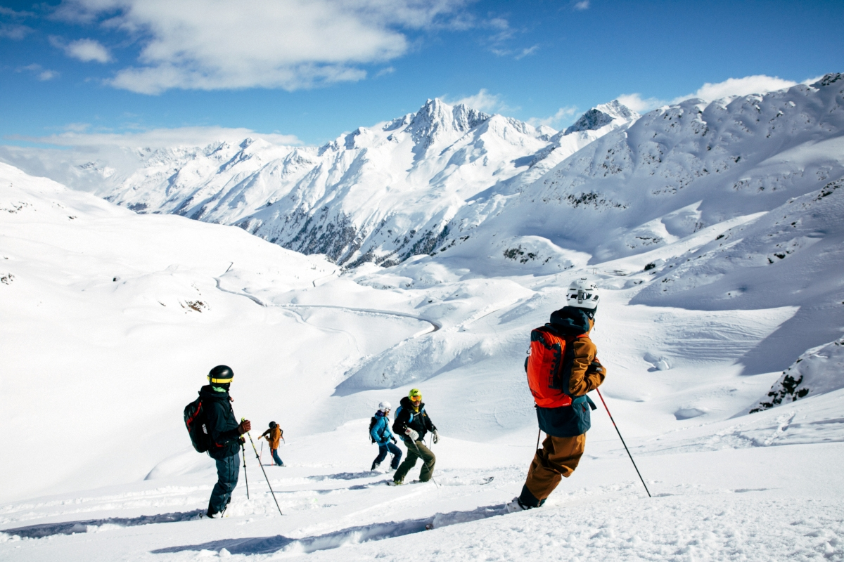Advanced Freeride Guiding mit der Top Schischule Kaunertal - Ski only